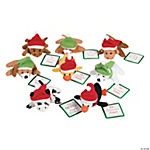 Plush Mini Bean Bag Holiday Animals