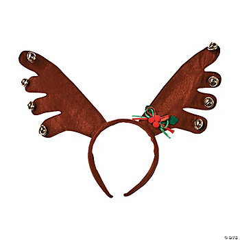 Jingle Bell Reindeer Antlers