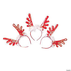 Bright Color Reindeer Antlers