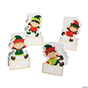 Elf Place Cards