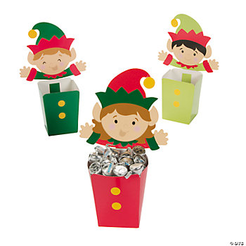 Elf Candy Buckets