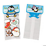 Penguin Party Bags With Toppers