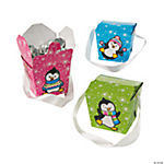 Penguin Party Takeout Boxes