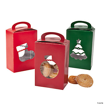 Christmas Boxes With Cutouts