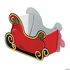 Santa Sleigh Treat Boxes