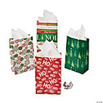 Paper Mini Christmas Treat Bags