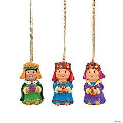 3 Kings Ornaments