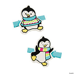 Penguin Hair Clips