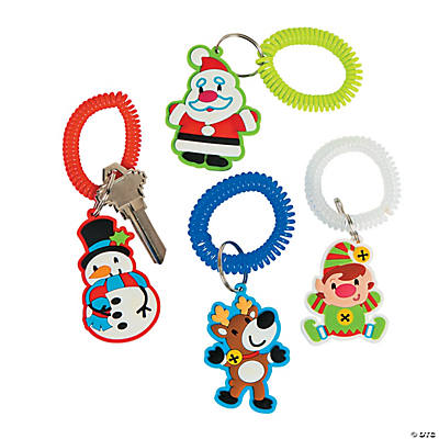 Holly Jolly Key Chains