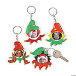Elf Picture Frame Key Chains