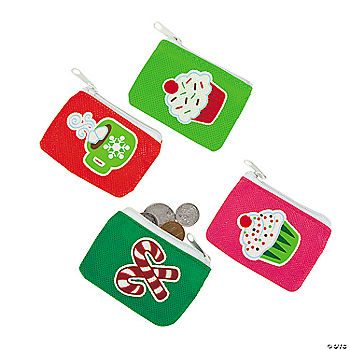 Holiday Sweet Treats Coin Purses Oriental Trading