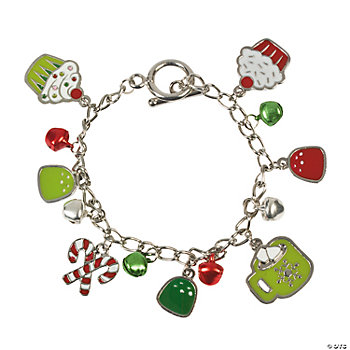 Christmas Sweet Treats Charm Bracelets