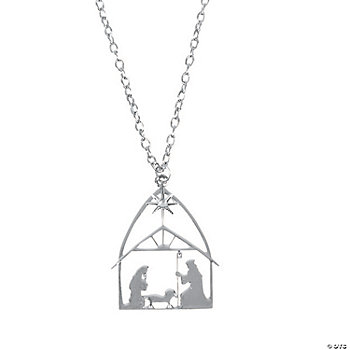Nativity Silhouette Necklaces