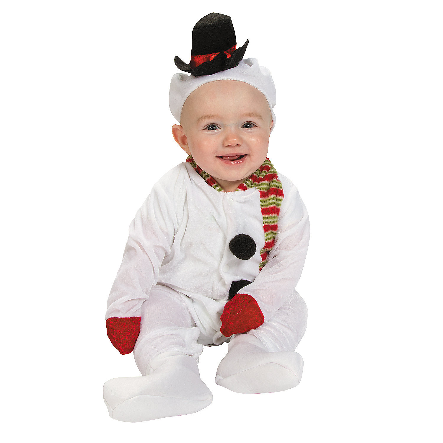Infant's Snowman Costume - Oriental Trading - Discontinued