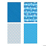 Blue & White Wrapping Paper