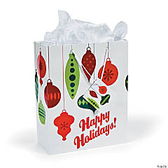 Large Red/Green Christmas Gift Bags