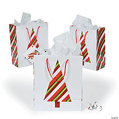 Medium Red & Green Gift Bags