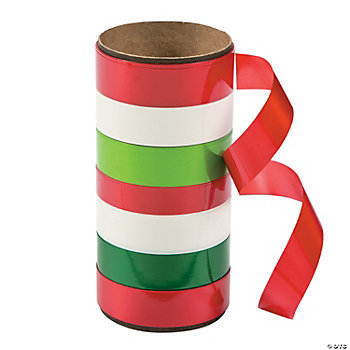 Red & Green Curling Ribbon