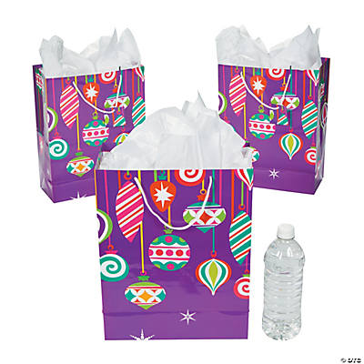 Large Bright Christmas Gift Bags