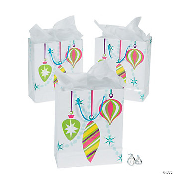 Bright Christmas Medium Gift Bags