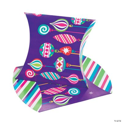 Large Bright Christmas Pillow Boxes