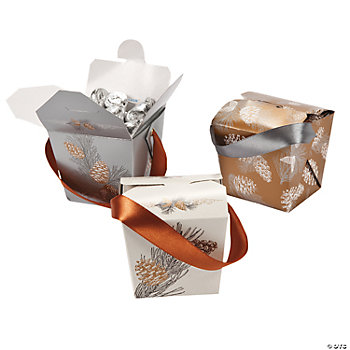 Winter Enchantment Takeout Boxes