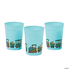Holiday Train Tumblers
