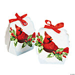 Cardinal & Holly Favor Boxes