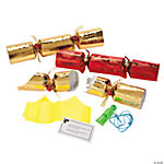 Red & Gold Foil Embossed Crackers