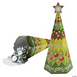 Christmas Tree-Shaped Favor Boxes