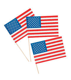 4th of July Flags