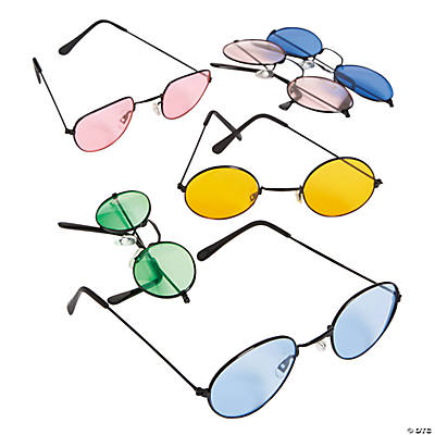 Colored Lens Sunglasses