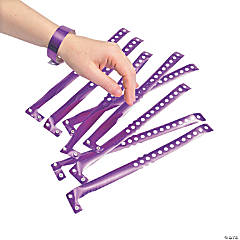 Purple Laser Wrist Tickets