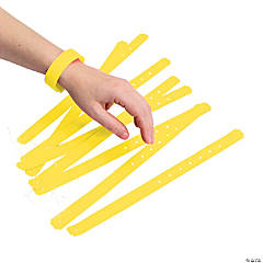 Neon Yellow Wrist Tickets
