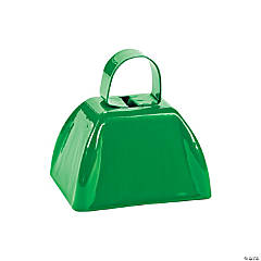 Green School Spirit Cowbells