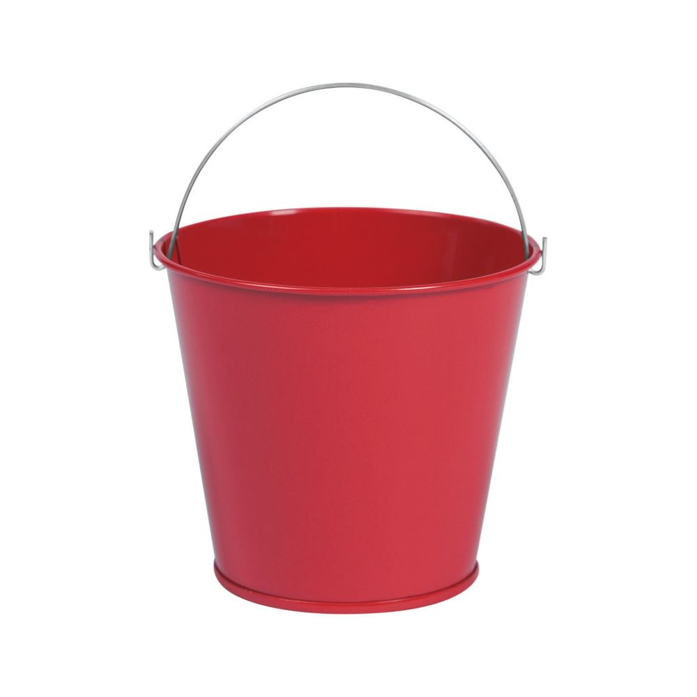 Red Mini Pails with Handles - Crafts for Kids & DIY Crafts