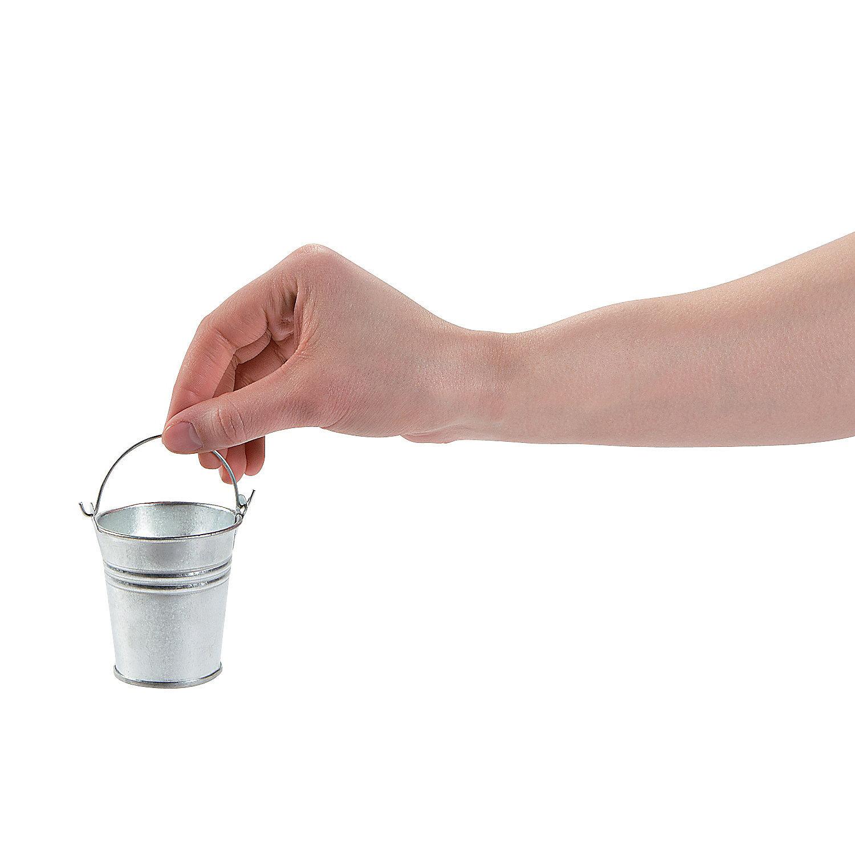 Mini buckets oriental trading for Small pail buckets