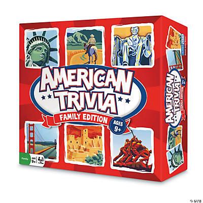 Trivia Board Game American Trivia Board Game