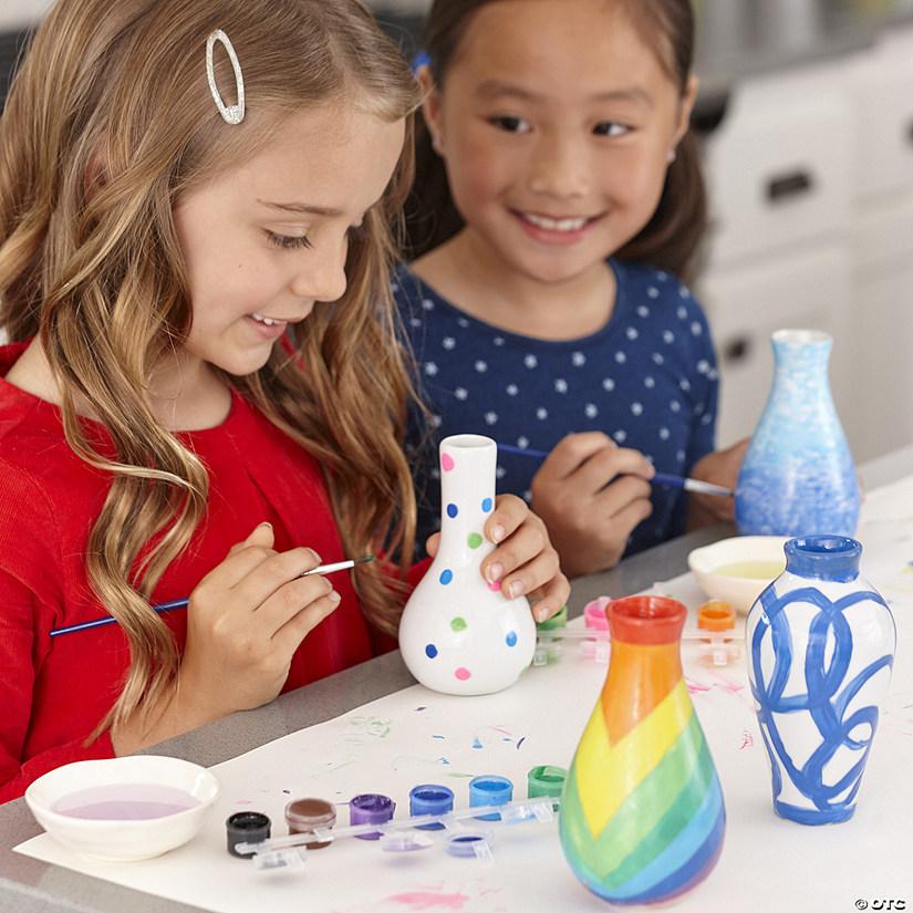 Paint Your Own Porcelain Vases