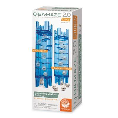 Q-BA-MAZE 2.0: Cascading Marbles Refill Set