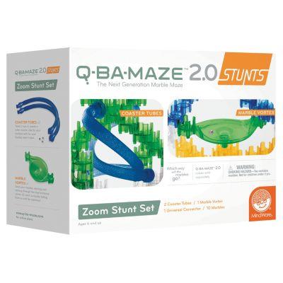 Q-BA-MAZE 2.0: Zoom Stunt Set
