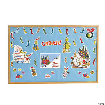 Dr. Seuss™ The Grinch Bulletin Board Set
