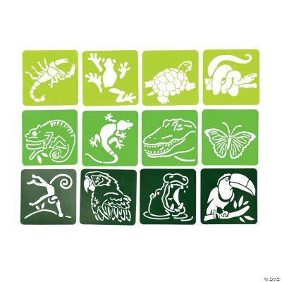 Jungle/Safari Stencils