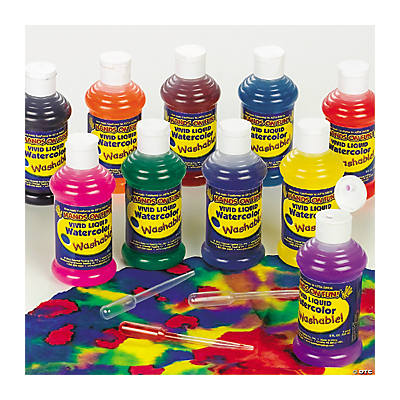 Washable Liquid Watercolor Set