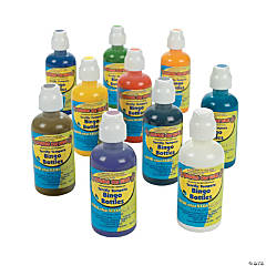 Terrific Tempera Bingo Bottles