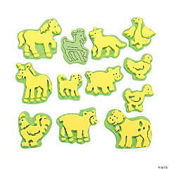 Fun On The Farm Foam Stamps