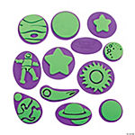12 Awesome Outer Space Stamps