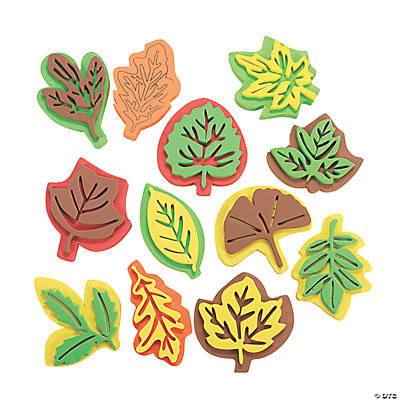 Learning Leaves! Foam Leaf