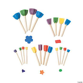 20 Dip And Dot Shapes Paint Dotters