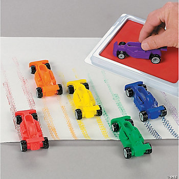 12 Vroom Car Stamps